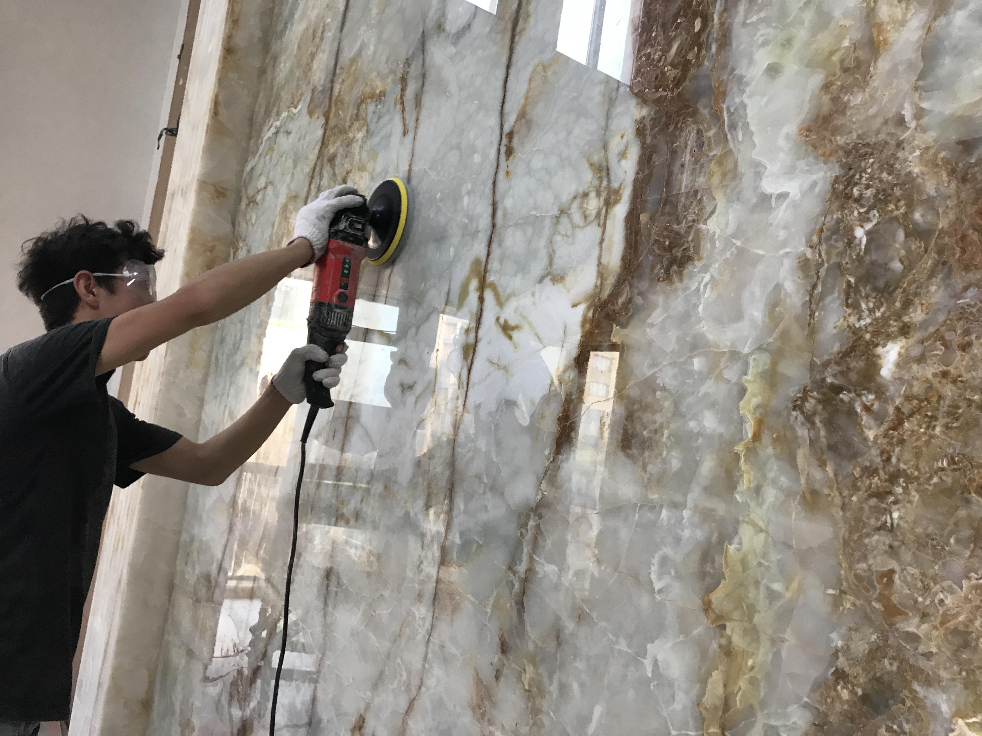 墙面大理石结晶
